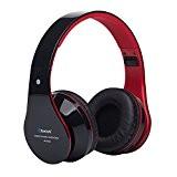 Penzo Casque Stéréo Casque Sans Fil Bluetooth V4.1 Audio écouteurs avec Micro Intégré et Contrôle du Volume Soutien TF Musique ...