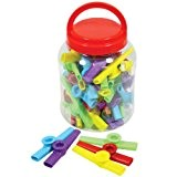 Percussion Workshop KZC05-TUB Lot de 3à kazoos plastique
