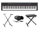 Pianos numériques YAMAHA FULL PACK P115 NOIR Pianos numériques portables