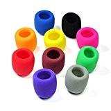 Pixnor 10 couleurs pack poche étape Microphone bonnette mousse couverture micro Karaoke DJ