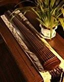 Professionnel chinois 7Cordes Instrument en bois vieilli Guqin cithare GU Qin