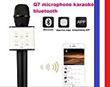 Q7 Wireless Microphone KTV Karaoke USB Player Pour iphone/Samsung/ HTC/Android Smartphone
