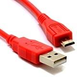 Rouge 1m long câble de charge Micro USB pour mini haut-parleur Bluetooth Bose SoundLink