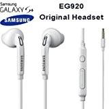 Samsung EO-EG920BW Jack 3,5mm, écouteurs stéréo intra-auriculaires avec télécommande et microphone, couleur: blanc