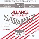 Savarez 540R Jeu de 6 cordes pour guitare classique en carbone Tension normale