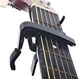 SAVFY Capo de Guitare / Capodastre Pour Guitare Acoustique Électrique Classique - Noir