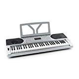 Schubert Etude 300 - Piano numérique 61 touches à frappe dynamique avec fonction apprentissage, accord et enregistrement, haut-parleurs intégrés (300 ...