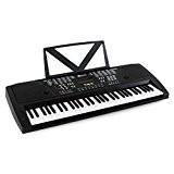Schubert Etude-61 Piano numérique 61 touches (fonction apprentissage et enregistrement, 100 instruments et rythmes, 12 démos, 8 percussions) - noir