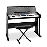 """Schubert """"Little Strauss"""" - Set piano numérique MIDI 61 touches avec tabouret à hauteur réglable"""