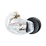 Shure SE215-CL-Right Écouteur de rechange pour Coté droit Transparent
