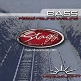 Stagg BA-4500 Jeu de cordes basse Nickelé