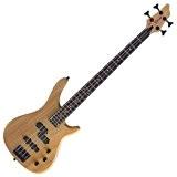 """Stagg BC300-N Guitare basse électrique """"Fusion"""" 4 cordes - Naturel"""