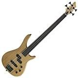 Stagg BC300FL-NS Fusion Guitare basse électrique sans frettes 4 cordes Naturel