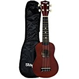 Stagg US10BK Ukulélé soprano traditionnel Naturel