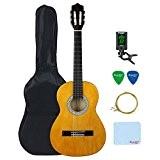 Strong Wind 36 pouces 3/4 Size Guitare Classique Nylon String Étudiant Débutant Guitare(3/4 de taille 36 pouces)