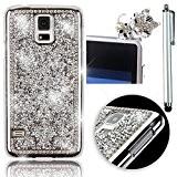 Sunroyal® Coque Rigide Originale Samsung Galaxy S5 S V I9600 PC Plastique Bling Diamant Strass Etui Housse Élégant Brilliant Rhinestone ...