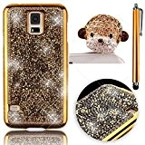Sunroyal® Originale Samsung Galaxy S5 S V I9600 Coque de Bling Diamant Strass Brilliant Etui Housse 3D Luxe Rhinestone Case ...