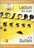 Tauzin Bruno Lecture Des Notes A La Guitare Guitar Book/Cd French