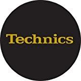 Technics DMC Disques de feutrine 1 paire Noir/doré