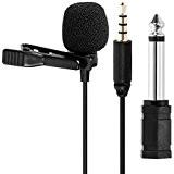 Tonor cravate/Lepel Mini Microphone omnidirectionnel à Mic pour Smartphons & DSLR, Camcoderders pour Audio & enregistrement vidéo