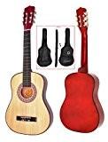 TS-Ideen 5257 Guitare acoustique 1/2 avec Etui + Sangle + Jeu de cordes pour Enfant de 6 à 9 ans ...