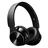 VicTsing Casque sans fil Bluetooth 4.0 Ecouteur Bluetooth Stéréo Casque Audio Lecteur MP3 Casque Pliable avec Micro et Mode Filaire ...
