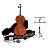 Violoncelle Deluxe 4/4 par Gear4music + Pack Accessoire
