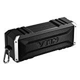 VTIN Punker Enceinte Portable Bluetooth Stéréo 20W Premium Haut-parleur Portable sans fil Double 10W Pilotes avec Radiateur Passif pour iPhone ...