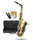 Windsor Saxophone alto avec étui rigide Finition dorée et laquée (Import Allemagne)