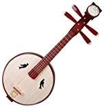 Xiao Ruan (Mandoline Instrument Chinois Ruan de haute qualité avec accessoires