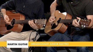 Les guitares MARTIN Dreadnought Junior