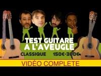 DES GUITARES CLASSIQUE 150 À 300€ - TEST